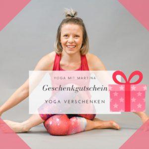 Yoga Geschenkgutschein Ig