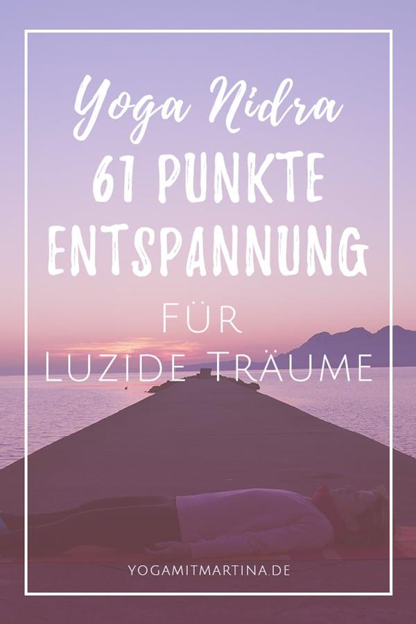 Yoga Nidra 61 Punkte Entspannung