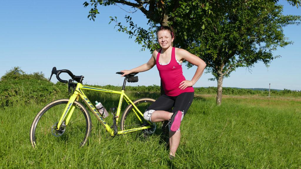 Yoga für Radfahrer Dehnen - Piriformis Stretch / Stehende Taube