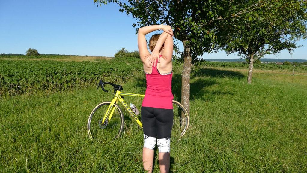 Yoga Radfahrer Dehnen 13a