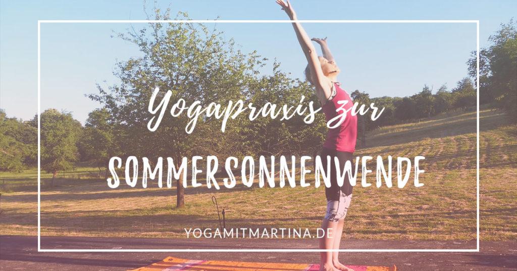 Yogapraxis zur Sommersonnenwende